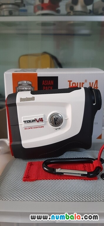 ong nhom do khoang cach bushnell tour v4 shift choi golf